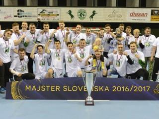 Hádzanári Prešova získali trinásty domáci titul, Šaľa vo finále neuspela ani raz