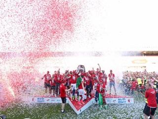 Slavia v záverečnom kole deklasovala Brno a získala český titul
