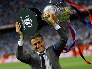 Luis Enrique sa s Barcelonou rozlúčil s deviatou trofejou