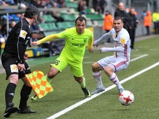 Slavia deklasovala Žilinu v súboji ligových majstrov