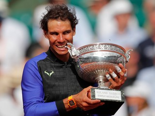 Rafael Nadal jednoznačne zdolal Wawrinku a vyhral Roland Garros