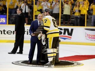 Sidney Crosby sa stal najužitočnejším hráčom play off NHL