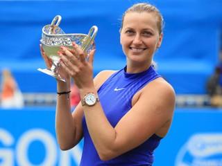 Po zranení to bol jej druhý turnaj. Kvitová v Birminghame získala dvadsiaty titul v kariére