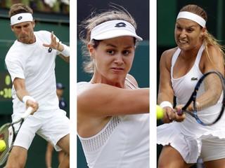 Jedna výhra, dve prehry. V prvý hrací deň vo Wimbledone uspela zo Slovákov iba Cibulková