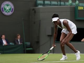 Venus Williamsová ukončila tlačovú konferenciu so slzami