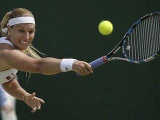 Cibulková vo Wimbledone skončila, nestačila na mladú Chorvátku