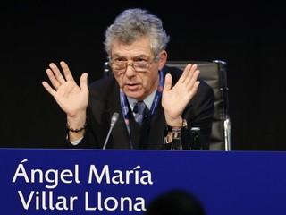Villar Llona odstúpil z postu viceprezidenta UEFA aj FIFA
