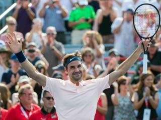 Federer potvrdzuje výbornú tohtoročnú formu, v Montreale šokuje mladý Kanaďan