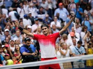 Federer môže dosiahnuť historický rekord, opäť potreboval päť setov