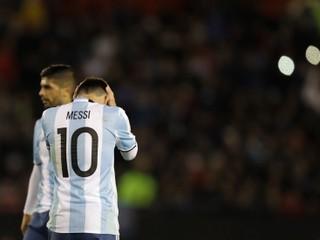Argentíne sa nedarí ani s Messim. Remizovala s posledným tímom