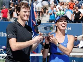 Miešanú štvrohru na US Open vyhrali Hingisová a Jamie Murray