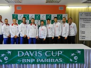 V úvodnom stretnutí Davis Cupu nastúpi Gombos proti Hurkaczovi