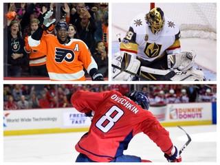 V prvých troch zápasoch dal dva hetriky. Ovečkin sa stal prvou hviezdou týždňa NHL