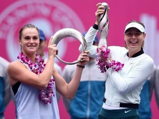 Šarapovová získala svoj prvý titul po návrate, ovládla turnaj v Číne