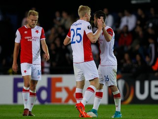 Slavia Praha zdolala mestského rivala, k výhre prispel gólom aj Hromada