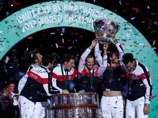 Tešia sa opäť po šestnástich rokoch. Francúzi desiaty raz vyhrali Davis Cup