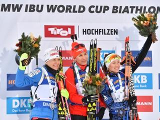 Kuzminová vyhrala stíhacie preteky v Hochfilzene: Opäť túto disciplínu milujem