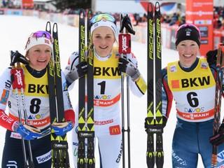 Šprint v Davose vyhrali Nilssonová a Klaebo, Procházková skončila už v kvalifikácii