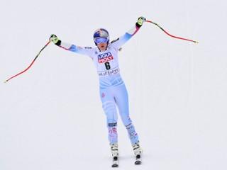 Vonnová sa stala víťazkou super-G vo Val d'Isere