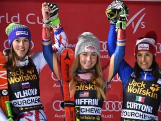 Vlhová skončila v paralelnom slalome druhá, vo finále ju zdolala Shiffrinová
