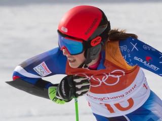 Vlhová skončila v obrovskom slalome mimo najlepšej desiatky, triumfovala Shiffrinová
