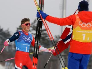 Nóri potvrdili pozíciu favoritov v štafete, Kläbo a Krüger majú druhé zlato
