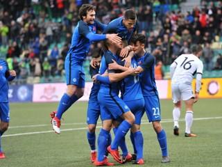 Slovensko 21 zdolalo Albánsko 21 4:1 (Online prenos, futbal, kvalifikácia ME 2019)