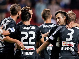 Jablonec hral s Olomoucom bez gólov, hostia dohrávali bez hráča i trénera