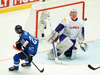 Favorit nedopustil prekvapenie. Fínsko zničilo Južnú Kóreu ôsmimi gólmi