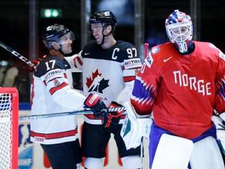 Favorizovaná Kanada deklasovala Nórsko, strelila päť gólov