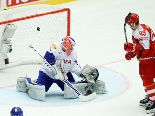 Južná Kórea vytrápila Dánsko, domáci hokejisti vyhrali iba o dva góly