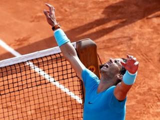 Nadal zničil Del Potra a zabojuje o svoj jedenásty titul na Roland Garros