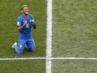 Neymar strávil váľaním sa po zemi už štrnásť minút