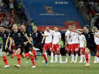 Chorváti zvládli penaltový rozstrel, vyradili Dánsko