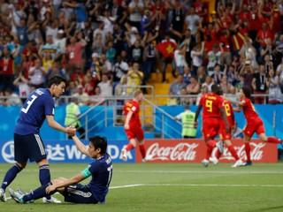 Prehrávalo už o dva góly. Belgicko zdolalo Japonsko gólom z poslednej minúty