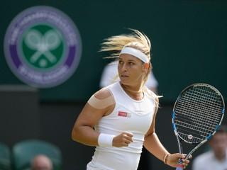 Cibulková postúpila už do štvrťfinále Wimbledonu, stále nestratila ani set
