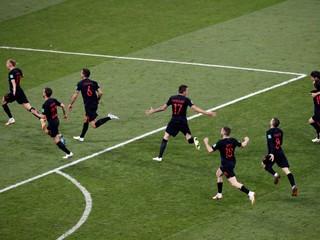 Chorvátsko postúpilo do semifinále, Rusko porazilo po penaltách