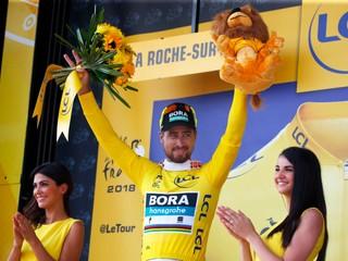 Sagan vyhral druhú etapu a obliekol si žltý dres