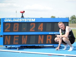 Volko podal ďalší skvelý výkon, prekonal slovenský rekord na dvojstovke
