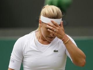 Cibulková najväčší úspech vo Wimbledone nedosiahla, prehrala v dvoch setoch