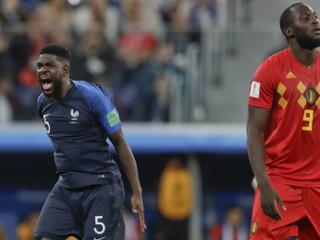 Francúzi hrali antifutbal a arbiter im dovolil zdržiavať, čertil sa Belgičan