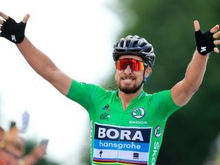 Sagan vyhral piatu etapu a prekonal rekord Erika Zabela