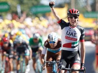 Sagan skončil v najlepšej desiatke, náročnú šiestu etapu vyhral Martin