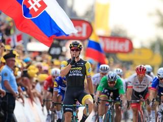 Sagan opäť bojoval o víťazstvo, v siedmej etape triumfoval Groenewegen