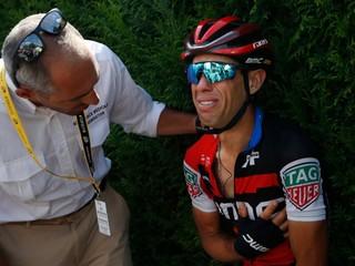 Froome prišiel o veľkého konkurenta, Porte na Tour po páde skončil