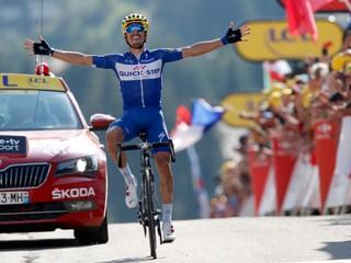 Sagan navýšil náskok v bodovacej súťaži, desiatu etapu vyhral Alaphilippe