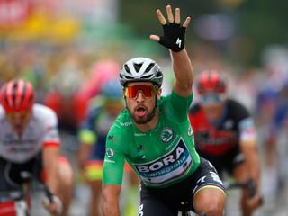 Sagan pridal tretí etapový triumf, v záverečnom špurte tesne porazil Kristoffa