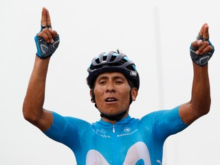 Sagan po páde prišiel do cieľa v dotrhanom drese, sedemnástu etapu vyhral Quintana
