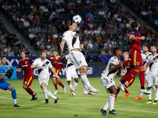 Ibrahimovič strelil prvý hetrik v MLS a zariadil víťazstvo svojho tímu