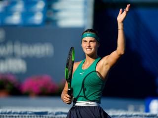Sobolenková vyhrala WTA Elite Trophy, vo finále zdolala Bertensovú